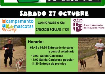 VI CANICROSS DE NAVALCARNERO 27 OCTUBRE 2018