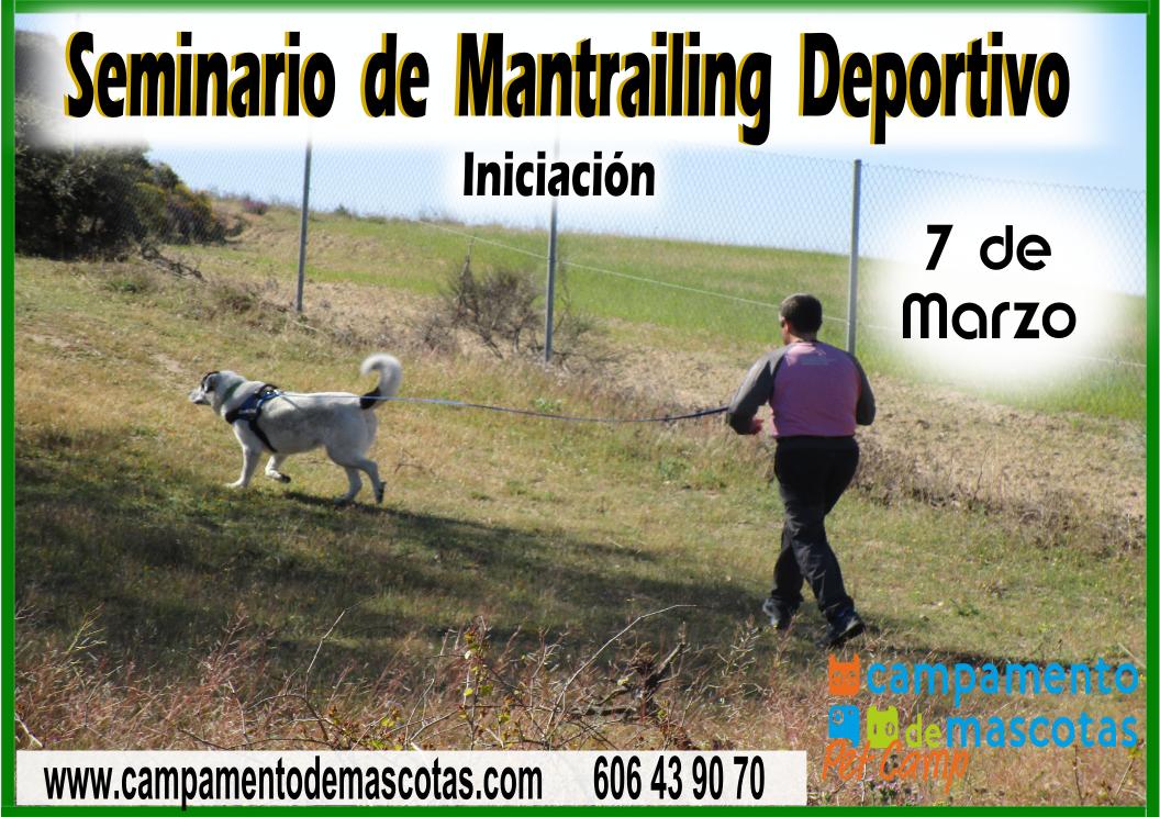 Seminario de iniciación al Mantrailing Deportivo